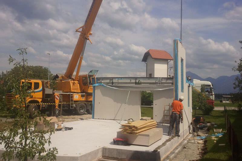 Gradnja Žiher hiše Exclusive zaključena